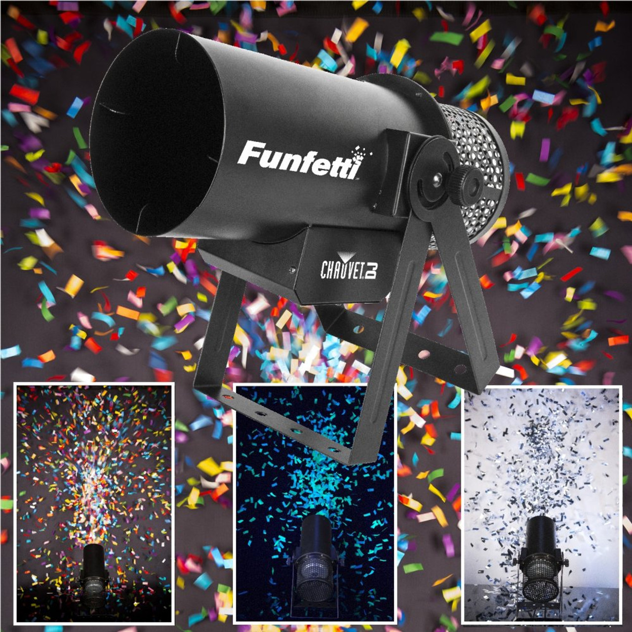 confetti popper, confetti blaster, confetti cannon, party cannon, confetti machine, confetti, co2 confetti machine, confetti blowing machine, confetti blower, special equipment, special effects, nightclub confetti machine, concert confetti machines, blower, blaster, co2 machine, DMX CONTROL CONFETTI BLOWER, DMX CONTROL CO2 CONFETTI BLOWER