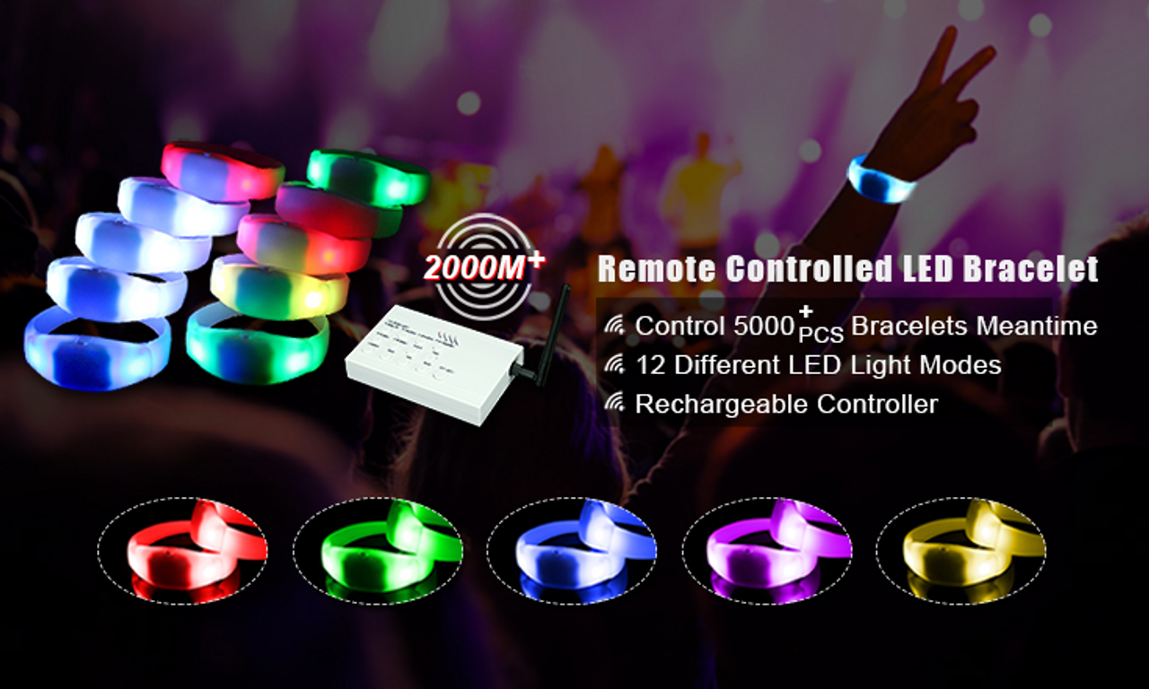 REMOTE CONTROL WRISTBANDS