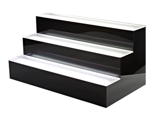 LED LIGHT UP SHELVE 4TIER/7FEET