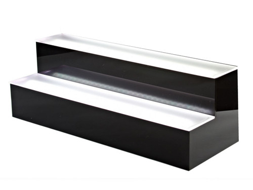 LED LIGHT UP SHELVE 2TIER/7FEET