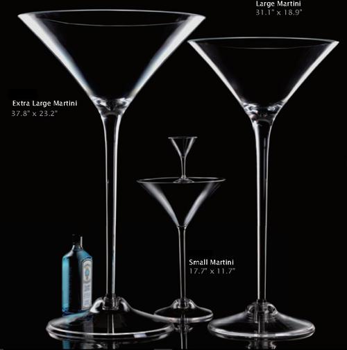 LARGE MARTINI GLASS