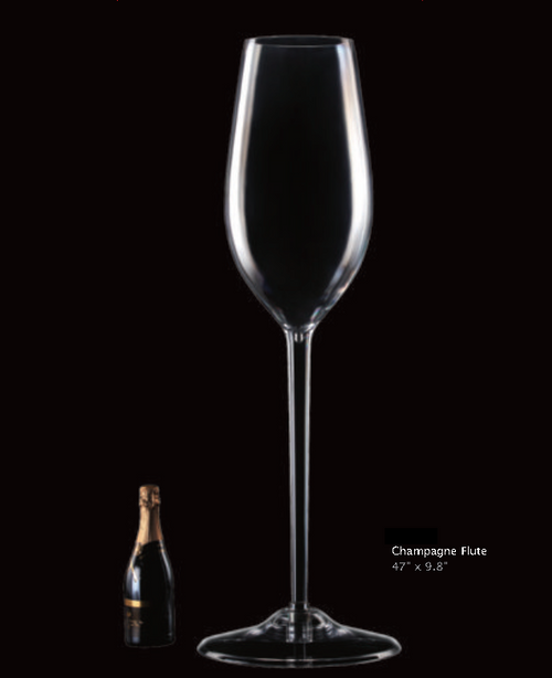 LARGE CHAMPAGNE FLUTE