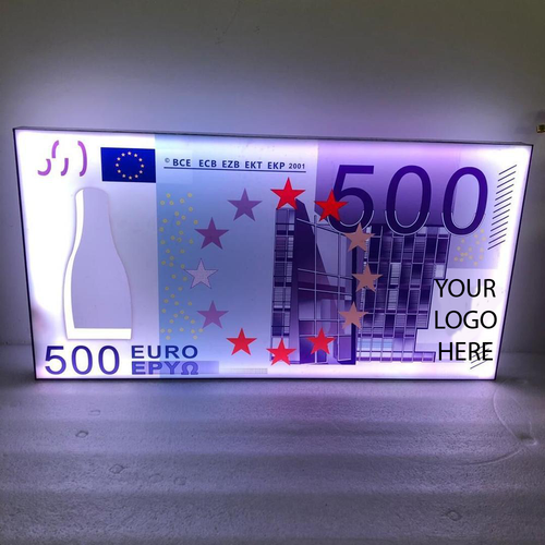 EURO BILL BOTTLE PRESENTER