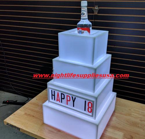 LED CAKE - SQUARE