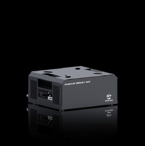 COLD SPARK MACHINE BATTERY DOCK