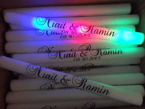 LED, FOAM sticks