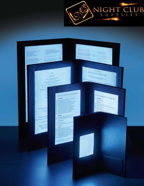 LIGHT UP MENUS