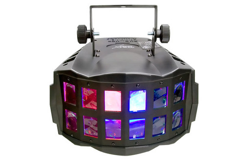 Double Derby X disco light for nightclubs, bars and lounges