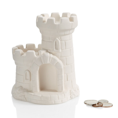 Medieval Castle Bank w/Stopper