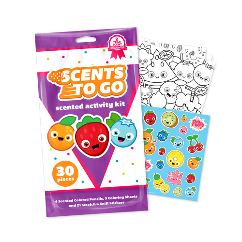Scents To Go Colored Smencils Kit