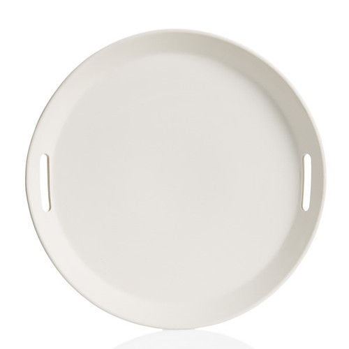 Large Round Tray w/Handles