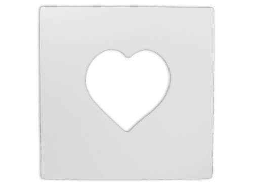 Square Heart Picture Frame