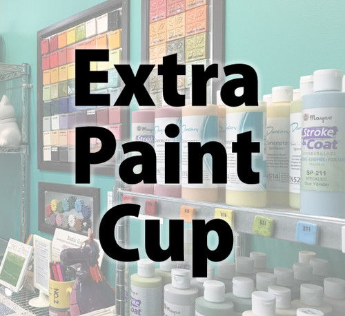 Extra Paint Cup for Fundraiser