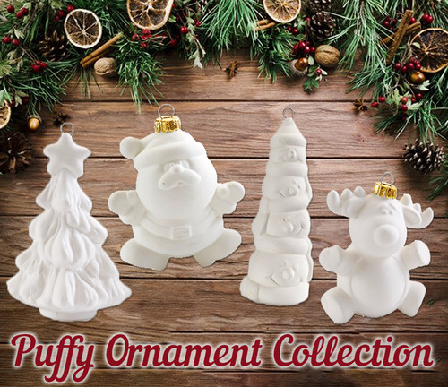 Puffy Ornament Collection
