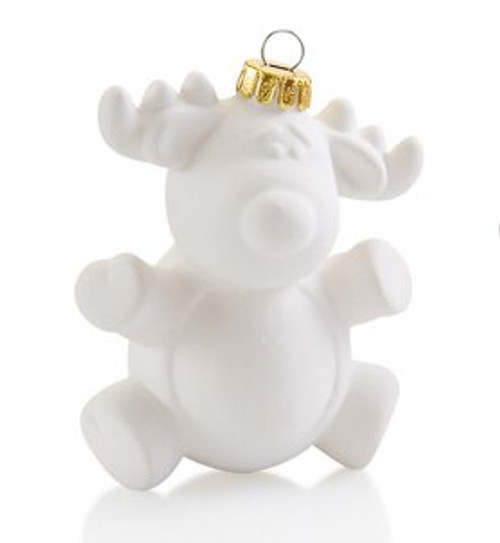 Puffy Reindeer Ornament