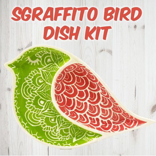 Sectioned Bird Dish Project Kit