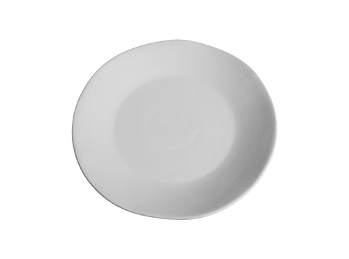 Organic Coupe Dinner Plate