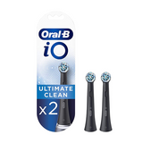 Oral-B iO Ultimate Clean Replacement Brush Heads Black