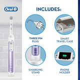 Oral-B Genius 9000 Orchid Purple Rechargeable Toothbrush