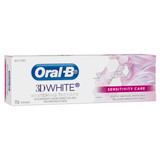 Oral-B 3D White Sensitivity Care Whitening Therapy Toothpaste 95g