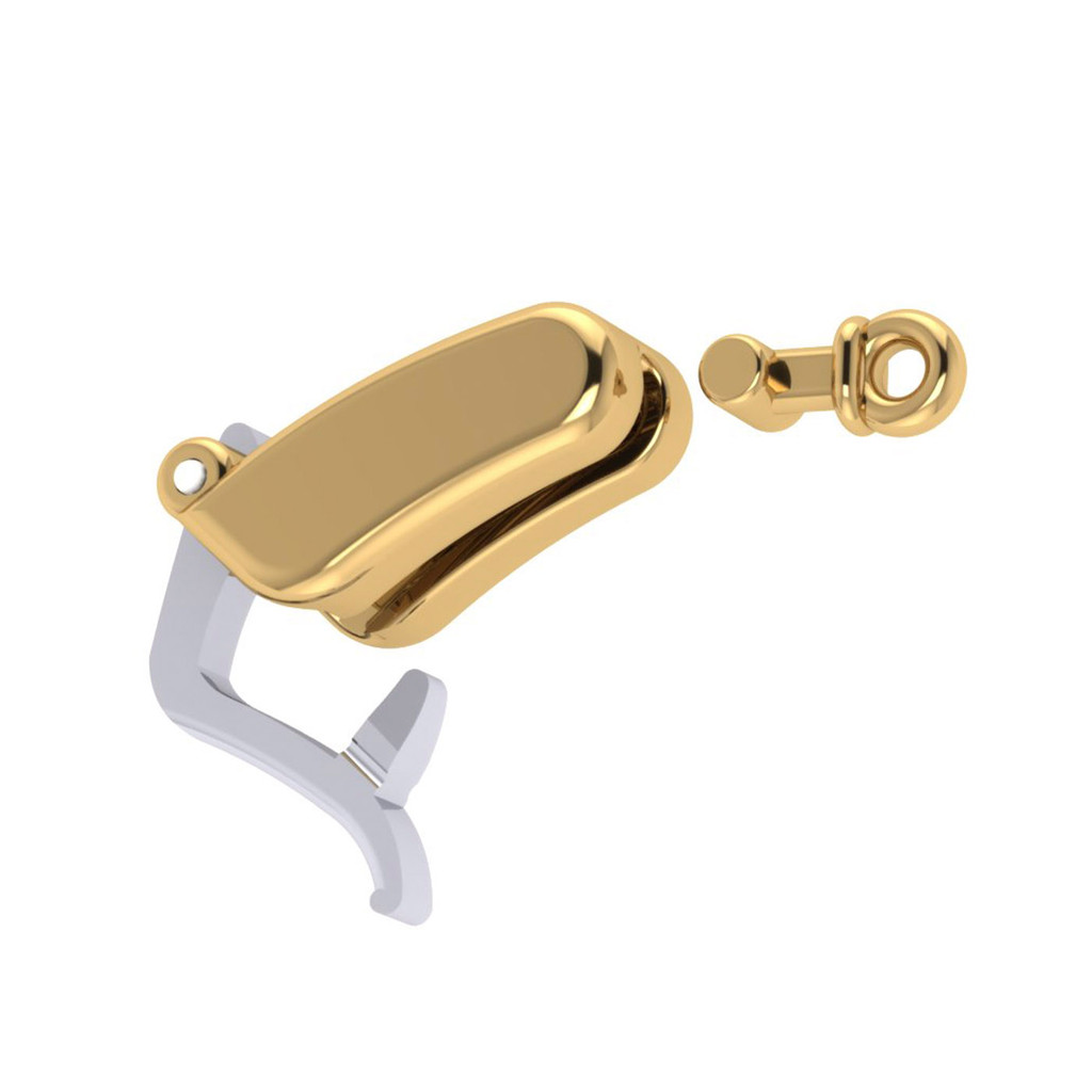 Clasp for earrings or pendants- Lever safety 5210
