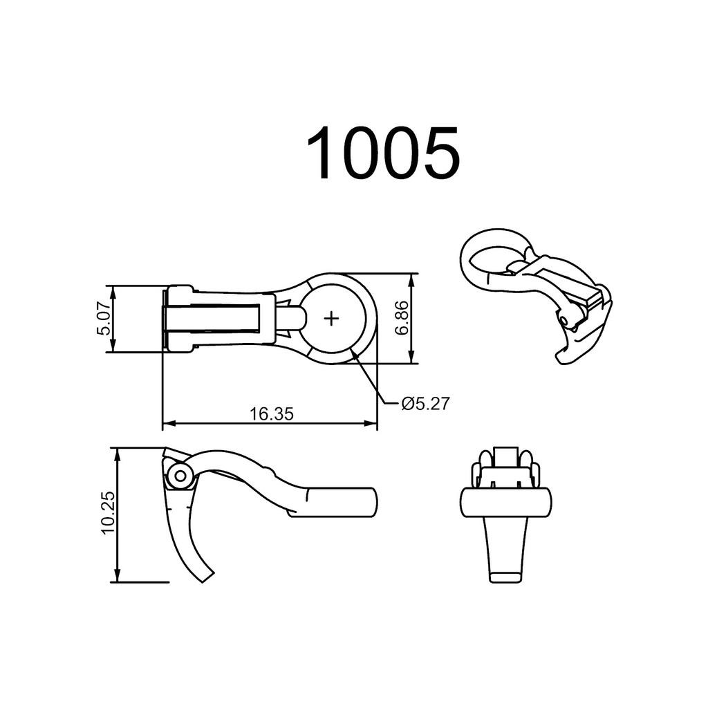 1005 Series Ear Clips