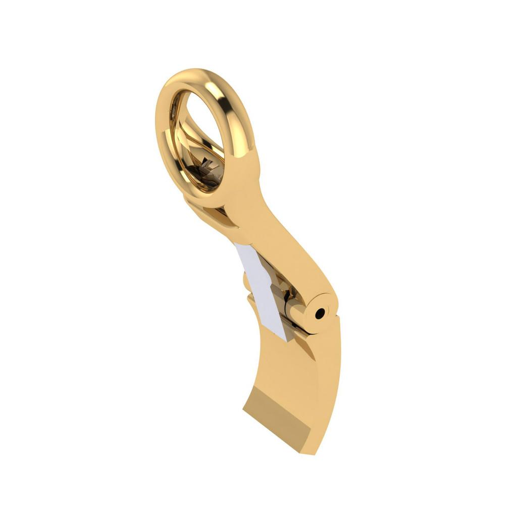 1055 reverse ear clip (medium)