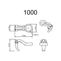1000 Series Ear Clips