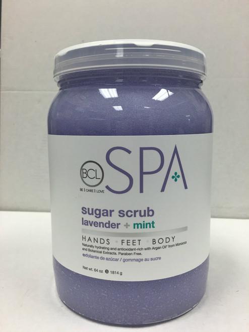 BCL Spa Sugar Scrub 64 oz - 6 Scents