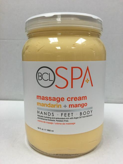 BCL Spa Massage Cream 64 oz - 6 Scents