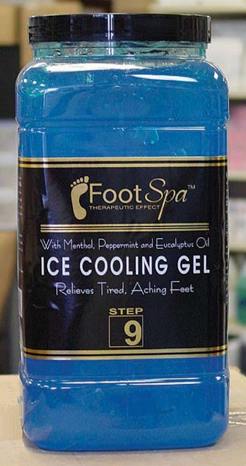 Foot Spa Ice Cooling 1 Gal - Peppermint (Mint)
