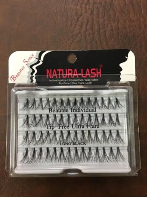 BS Natural - EyeLash ULTRA FLARE - Black 72 pack/case - Long