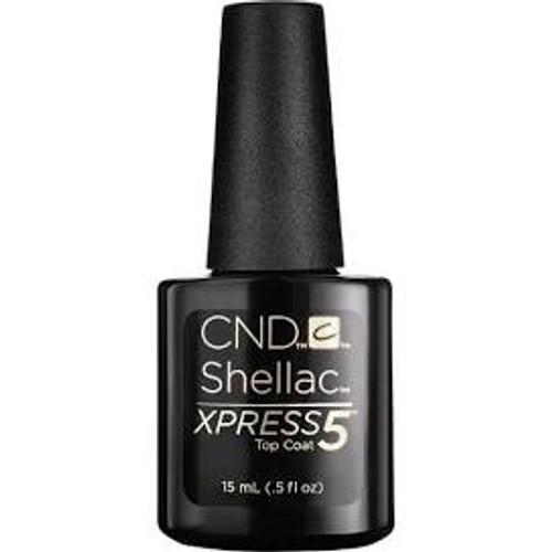 TCG CND Gel Express 5 Top Coat 0.5oz