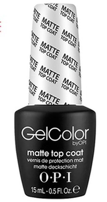 OPI Gel Matte Top Coat