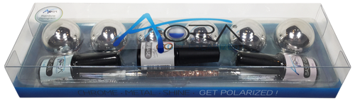 Aora Rainbow Hologram Kit (6 Colors) Plus Top, Base, Grip