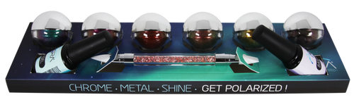 Aora Chrome Kit (6 Colors) Plus Top, Base