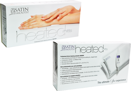 Satin Professional Heated Spa Mitts (Gloves)