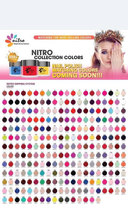 Duo31 Nitro 3-1 Dipping  Powder, Gel and Polish (256 Colors)