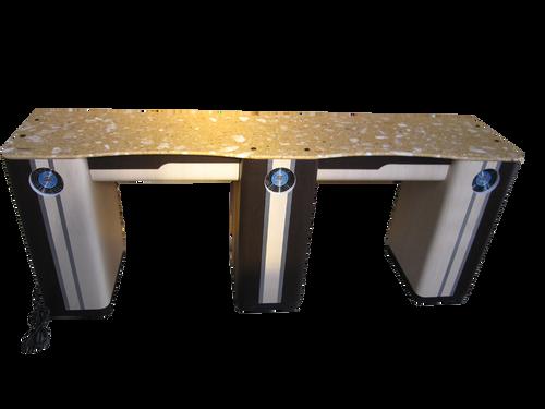 PC Double Straight Nail Table V11-820-293 Fan Legs
