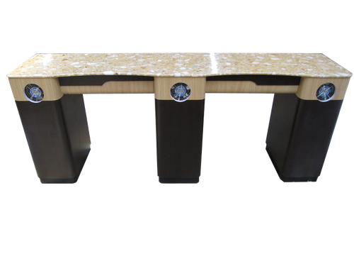PC Double Straight Nail Table V12-820-293 Fan Legs