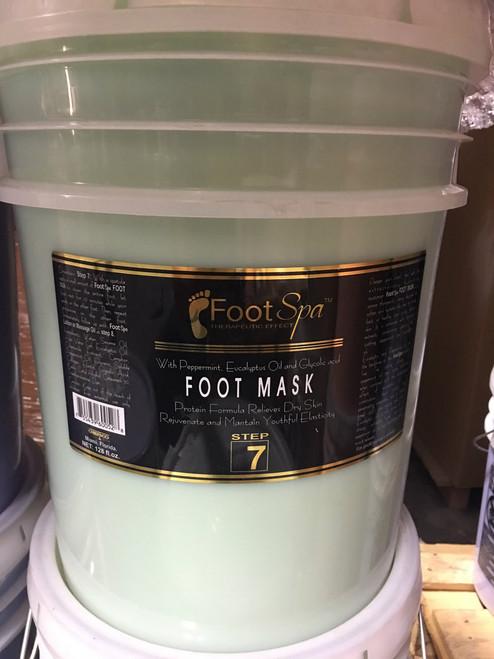 Foot Spa - Foot Mask - 5 Gal Bucket - Peppermint (Mint)