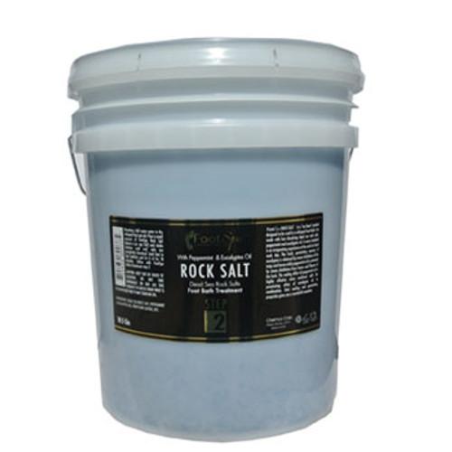 Foot Spa Rock Salt 5 Gal - Mint (Mui bo bon mau xanh)