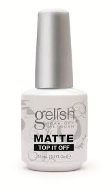 TCG Gelish Matte Top Coat 0.5oz