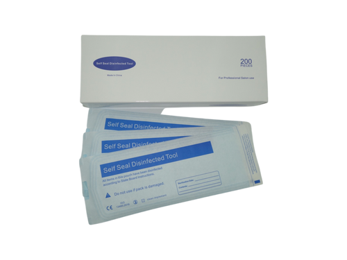 "Group A10 : Sterilization Pouch 9.5-10"" 200 PCS/Box"