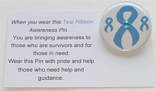 Use our Blue Awareness Ribbon Button to represent Grave's Disease, Thyroid Disease, Prostrate Cancer Awareness, Men's Health, etc.for your next charity event, clinics, team building, fashion shows, support group meetings, or a personal thank you for donating to such a worthy cause.