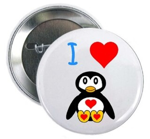 I Love Penguins Button is perfect for zoos/aquariums to place in their gift shops asking for a donation to save these adorable little guys or handouts at zoo camps or at over night zoo events.