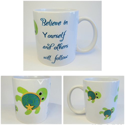 This adorable mug is perfect for graduations, motivational speaker gifts, birthdays, retirement, etc.