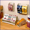 "Metal Label Dispenser for Multiple Rolls-Up to 12-1/2"" wide"