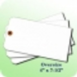 Blank Tags - Large, Oversized