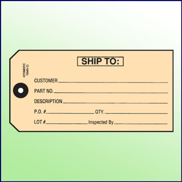 Ship To Tag